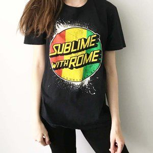 Sublime With Rome Graphic Tee Shirt Band Tour M